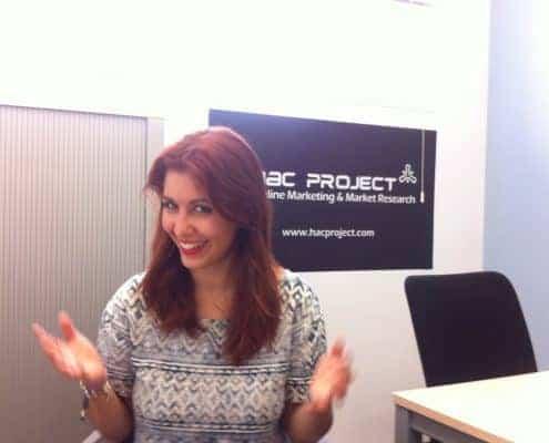 Entrevista tras el Innova a Carmen Pena