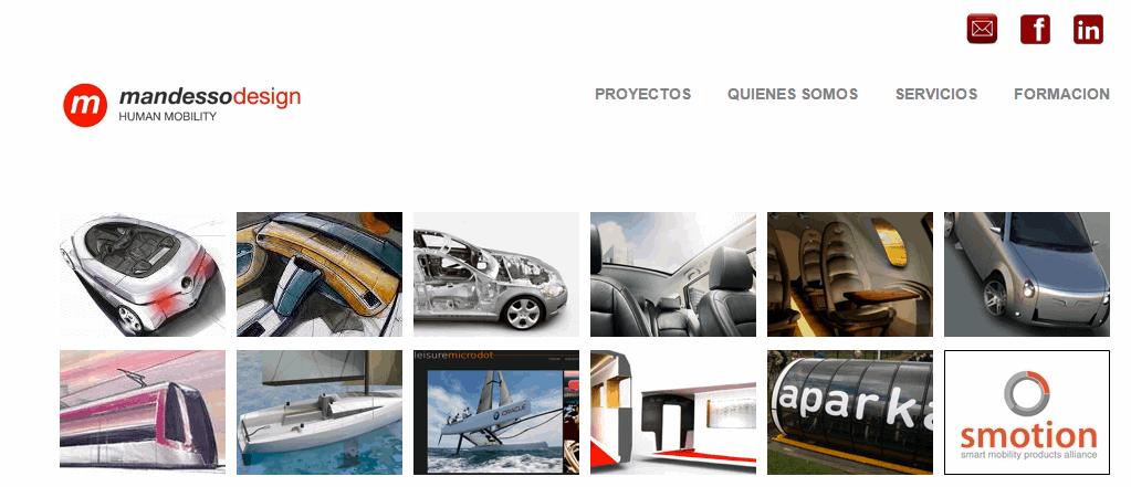 Proyectos web Mandesso