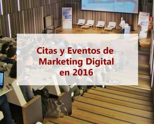 eventos Marketing Digital 2016