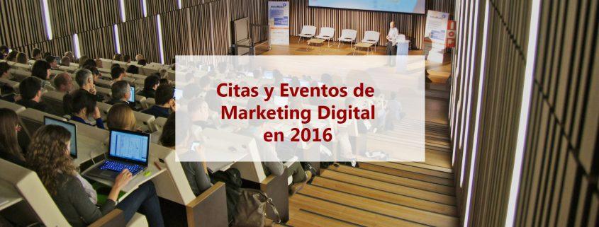 eventos Marketing Digital 2016