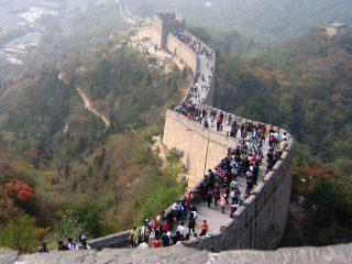 masificación muralla china