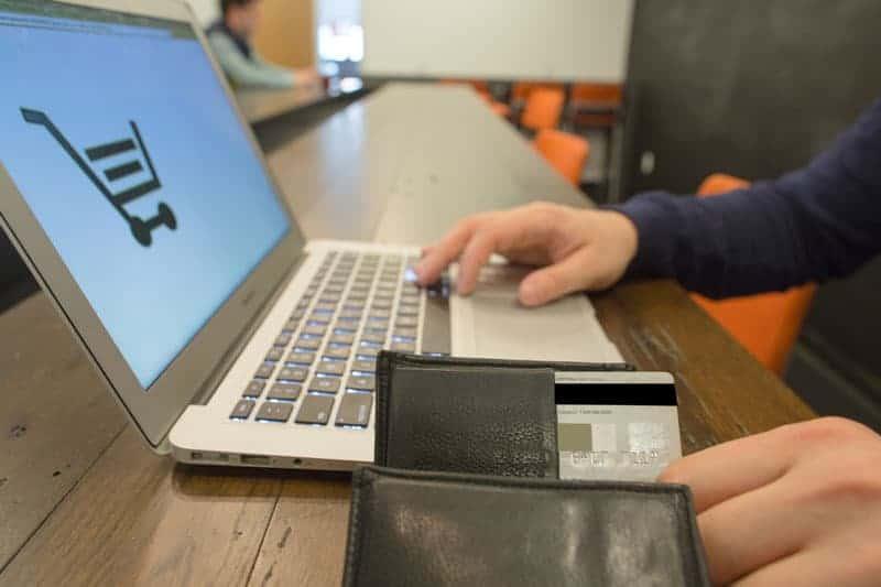Pagando en una tienda online