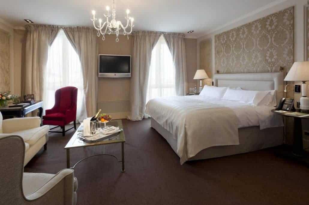 habitación hotel lujo