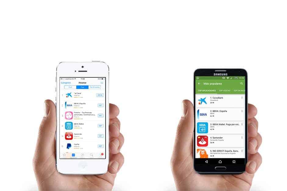 aplicaciones de banca moviles