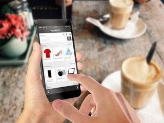 Comprando en una tienda online desde un movil