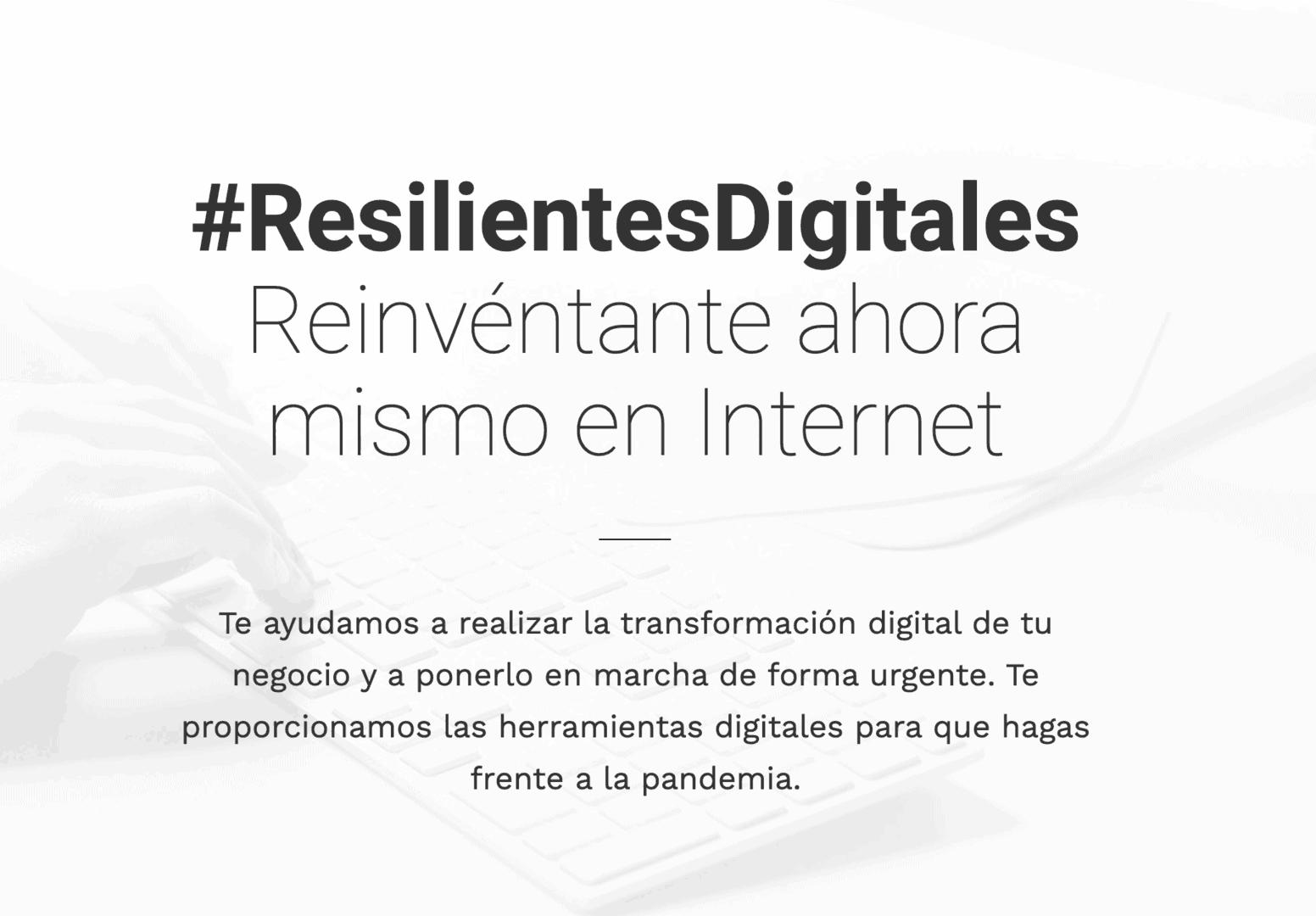 Resilientes Digitales. Digitalización de Empresas en Tiempos de Coronavirus Pandemia